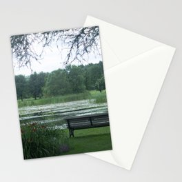 Sitting Amongst the Lilies Stationery Cards