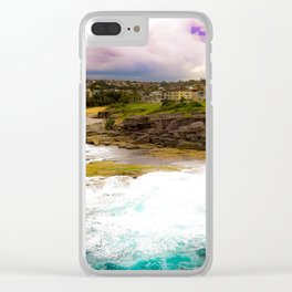 Shark Point, Clovelly - NSW Clear iPhone Case