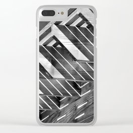 Decisive Moment -Light & Shadow Clear iPhone Case