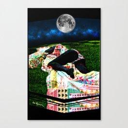 Sleepy 01 Canvas Print