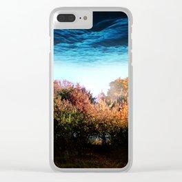 Michigan Above Clear iPhone Case