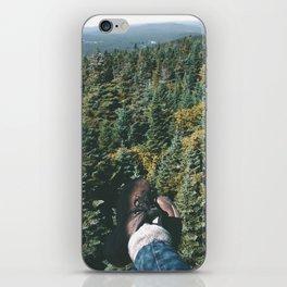 Hiking Boots iPhone Skin