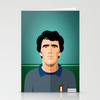 juventus Stationery Cards featuring Zoff 1982 by boobee