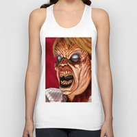 ed sheeran Tank Tops featuring Evil Ed by Norm Gaudette