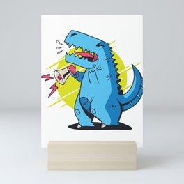 Trex Loud Mini Art Print