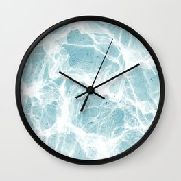 Poolside marble Wall Clock