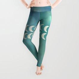 mermaid moon Leggings