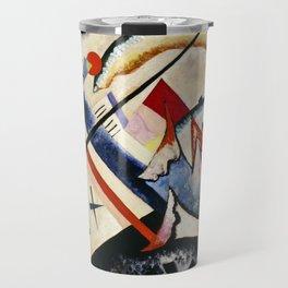 Wassily Kandinsky - White Cross Travel Mug