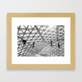 """Under the Dome"" Framed Art Print"