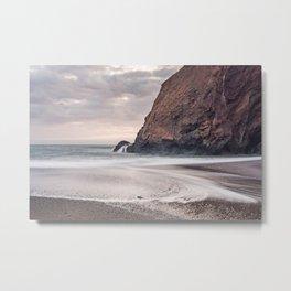 Beach Patterns Metal Print