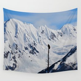 Perch With A View - I Wall Tapestry