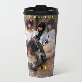 Japanese cosplay, sexy girls, Birthday cards, Asian teasers Travel Mug