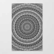 Me and my Mandala Canvas Print
