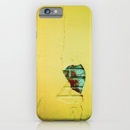 NYC - A Crack In The Universe iPhone Case