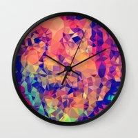 einstein Wall Clocks featuring Einstein by Alexandre Perotto
