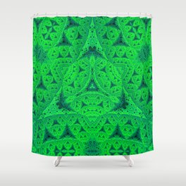 Kryptonite Shower Curtain