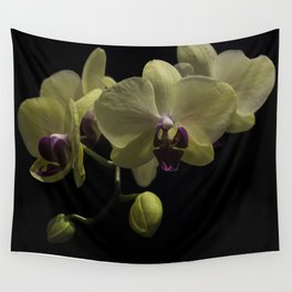 The Yellow Orchid Wall Tapestry