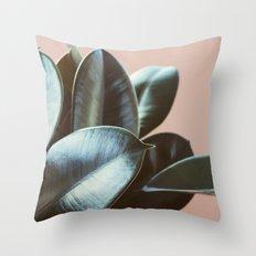 Ficus Elastica #2 Throw Pillow