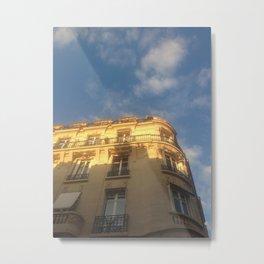 Paris Street Views Metal Print