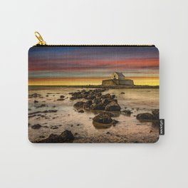 St Cwyfan Sunset Carry-All Pouch