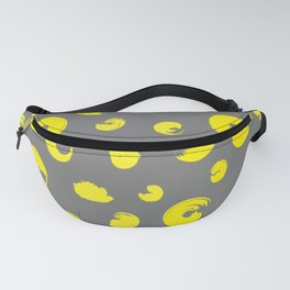 Yellow dotted pattern Fanny Pack