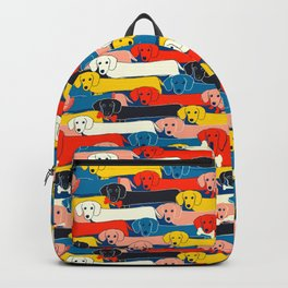 COLORED DOGS PATTERN 2 Backpack