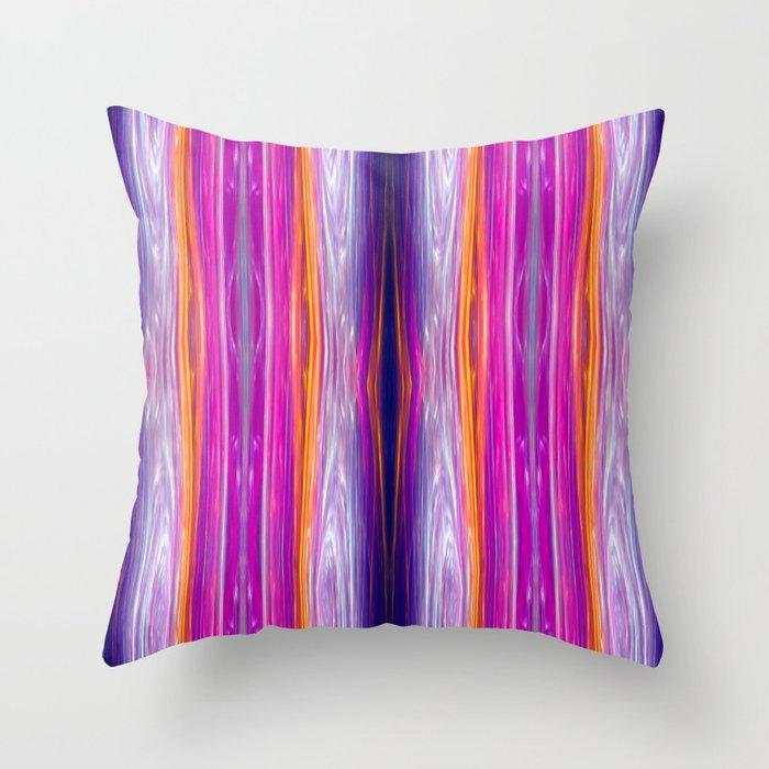 Elegant Stripes Throw Pillow