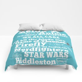 Royals Nerd Anthem! Comforters