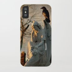 Angel and Crow Slim Case iPhone X