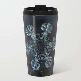 Real snowflake - Ice crown Travel Mug