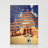 pyramid Stationery Cards featuring Pyramid by Cs025