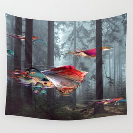 Electric Stingray World Wall Tapestry