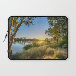 River Sunrise Laptop Sleeve
