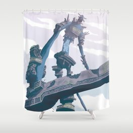 Shadow of the Colossus  Shower Curtain