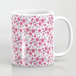 Pink & Purple Blooms Coffee Mug