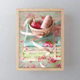 Craft Room - pastel Framed Mini Art Print
