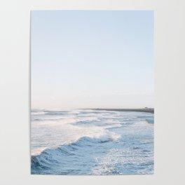 Golden waves - Iceland   landscape - photography - travel - nature - print - photo Poster
