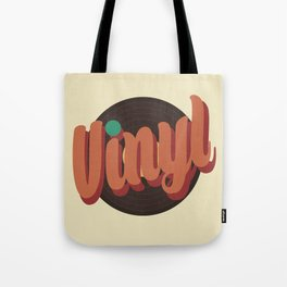 Vinyl Lover Tote Bag