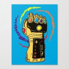 Infinity Power Canvas Print