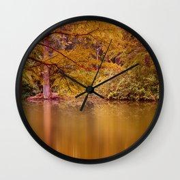 Autumn 53 Wall Clock