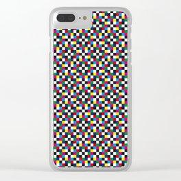 Color Test - RGB Meets CMYK 01 Clear iPhone Case