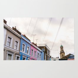 Dreamy Sky over Notting Hill, London Rug