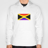 jamaica Hoodies featuring jamaica country gay flag homosexual by tony tudor