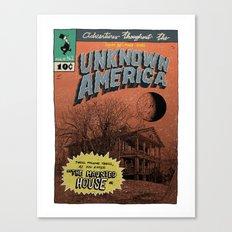 Unknown America Comics #2 Canvas Print