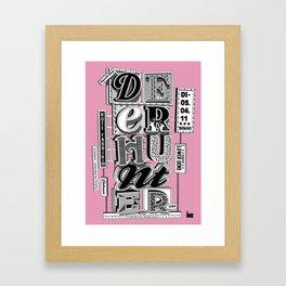 deerhunter Framed Art Print