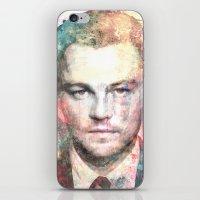 leonardo dicaprio iPhone & iPod Skins featuring Leonardo DiCaprio by Nechifor Ionut