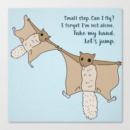 Let's Jump Canvas Print