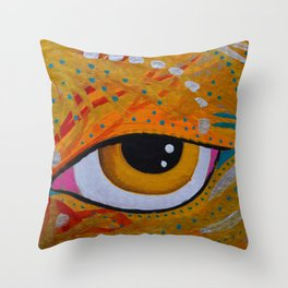 Water in mars Throw Pillow