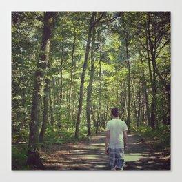 Forêt Canvas Print
