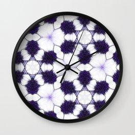 Purple Passion Pattern 5 Wall Clock